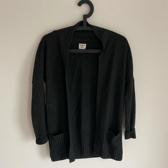 Sunday Best wool blend cardigan